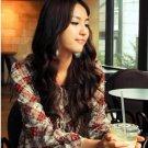 New Hot sale T-shirts Nice Khaki Cotton Japan Tunic Long Sleeves