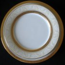 Noritake Majestic Gold #4290 Dinner & Accent Plate NEW
