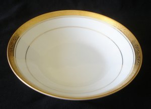 Noritake Majestic Gold Coupe / Soup Bowl 4290 NEW