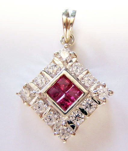 Gemstone Diamond Pendant JP 0020