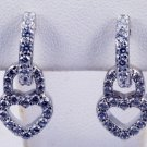 Diamond Earrings Heart Pattern JE 0007