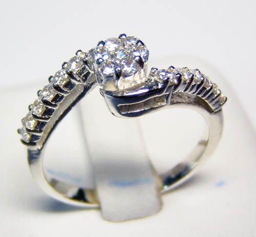 Double Diamond Ring JR 0066