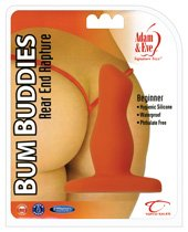 Adam & eve bum Buddies Rear End Rapture Silicone Anal Plug - Beginner
