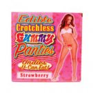 Edible Crotchless Panties-Strawberry