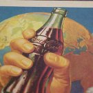 1956 COCA-COLA INK BLOTTER  FRIENDLIEST DRINK ON EARTH