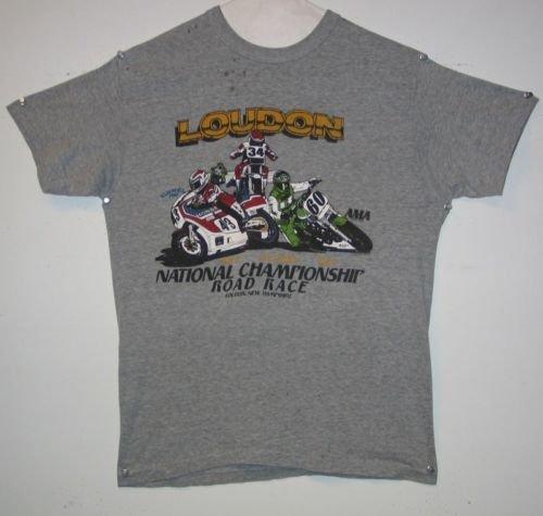 Motorcycle 1983 Loudon AMA National Championship