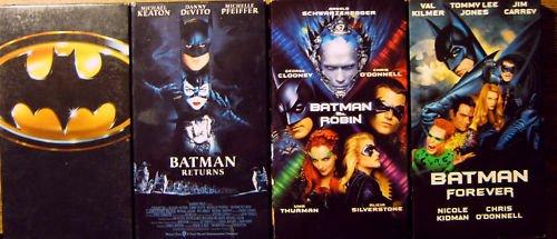 Batman 4 Video Set