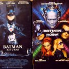 Batman 4 Video Set