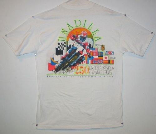 Motorcycle 1989 Unadilla 250 US GP MX Hurricane Season