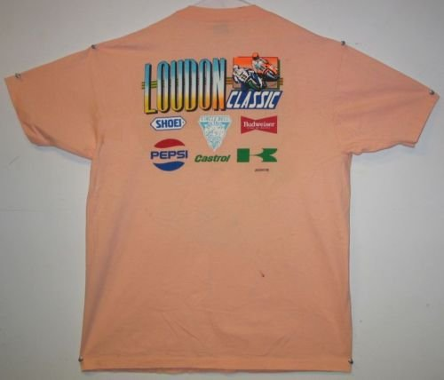 Motorcycle 1989 Loudon Classic AMA  National T-Shirt