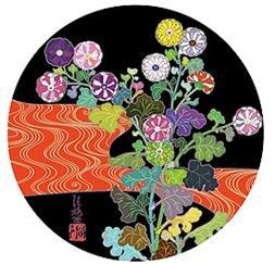Takashi Murakami Prints Korin Red Stream