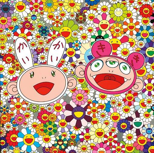 Takashi Murakami Prints Kaikai & Kiki Lots of Fun!