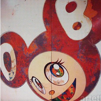 Takashi Murakami Prints And Then Red Dob (2010)