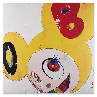 Takashi Murakami Prints And Then Lemon Pepper Dob