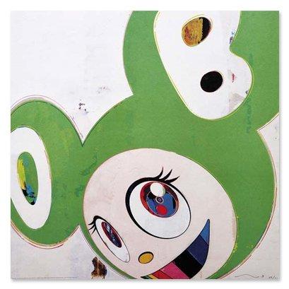Takashi Murakami Prints And Then Green Truth Dob