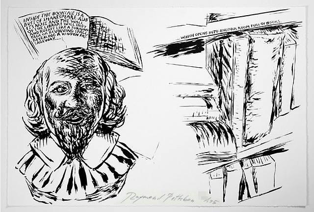 Raymond Pettibon Print Shakespeare