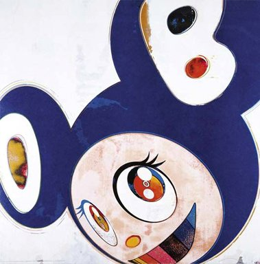 Takashi Murakami Prints And Then Original Blue Dob