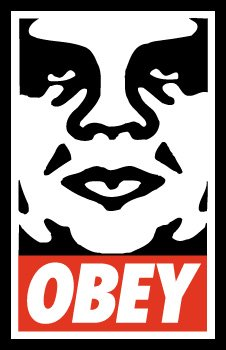 Shepard Fairey Prints Andre The Giant OBEY!