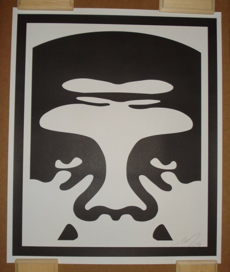 Shepard Fairey Prints Andre The Giant Version A (Top)