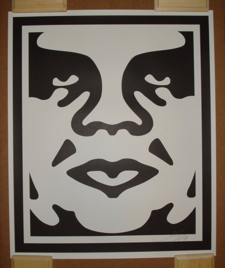Shepard Fairey Prints Andre The Giant Version B