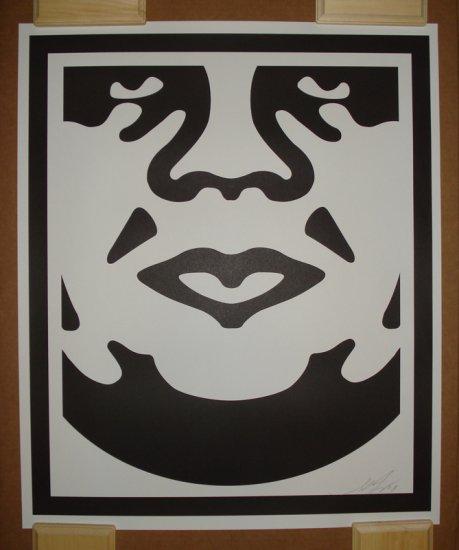 Shepard Fairey Prints Andre The Giant Version C