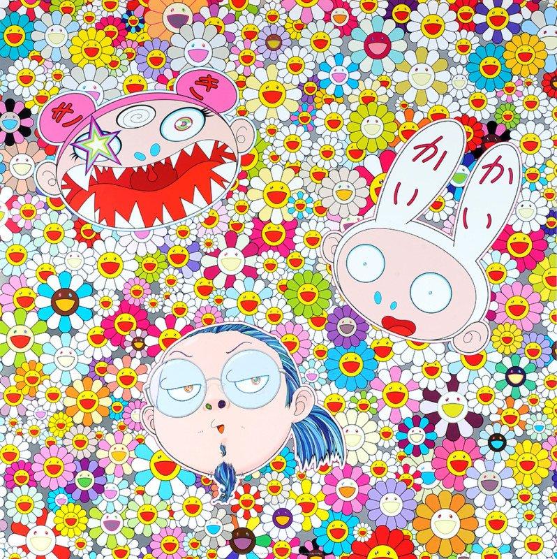 Takashi Murakami Prints The Shocking Truth