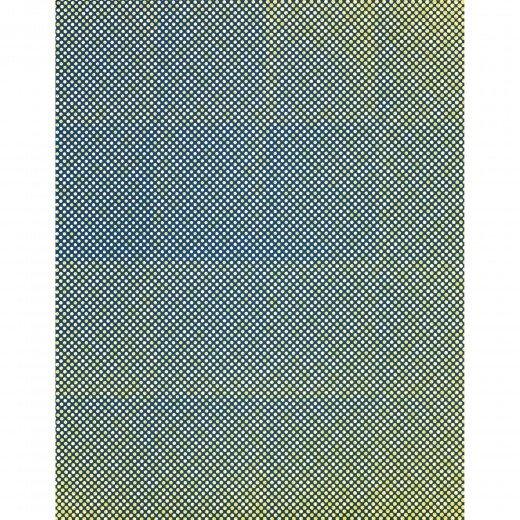 Tauba Auerbach Limited Edition Print (Untitled) Fold Screenprint