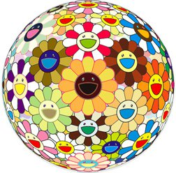 Takashi Murakami Prints Sunflower