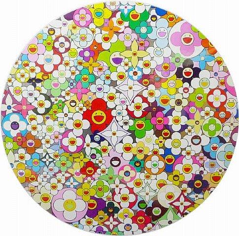 Takashi Murakami Prints Superflat Flowers Silkscreen Edition