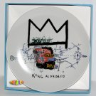 Jean-Michel Basquiat Porcelain Plate Edition (White)
