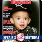 Sports Illustrated Magazine Cover Birthday Invitation