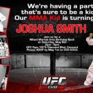 UFC Gym MMA Martial Arts Photo Birthday Invitations