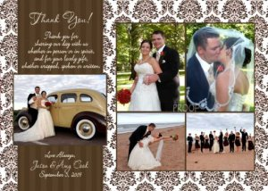 Save the Date Card Photo Engagement Wedding Invitation Party