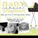 Stroller Fun Ultrasound Baby Shower Invitations Unisex