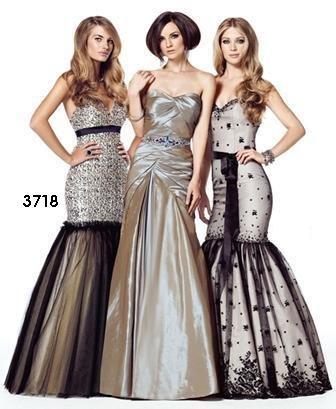 Xcite Prom by Impression 3718 Gold Black Overlay Mermaid Skirt Evening Dress