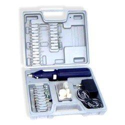 61 Pcs 3.6V Cordless Dremel Style Die Grinder Kit - Nk # 10655