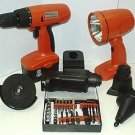 6 In 1 18 Vlt Cordless Tool Kit
