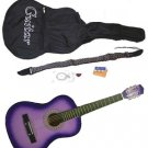 "38"" Purple Acoustic Guitar With Accessories - GA3810R-PL"