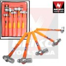 5 Pcs Ball Pien Hammer Set - Nk # 02870A