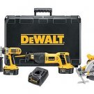 XRP 18V Cordless Combo Kit - DeWalt DW4KIT -Rec.