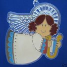 VINTAGE HALLMARK ANGEL ACRYLIC CHRISTMAS ORNAMENT 1981