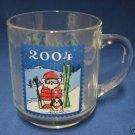 MARSHALL FIELDS SANTABEAR 2004 MUG CUP SKIER SKIING
