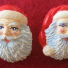 Christmas Santa Claus Novelty Pierced Earrings New