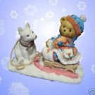 CHERISHED TEDDIES FRIENDS ALWAYS PULLING FOR YOU 176028