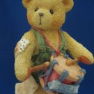 CHERISHES TEDDIES DRUMMER BEAR CHRISTMAS ORNAMENT 1994