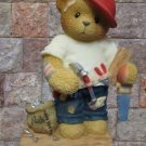 CHERISHED TEDDIES WOODY CARPENTER BEAR 476544 MIB NEW