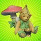 CHERISHED TEDDIES RYAN GREEN WITH ENVY LEPREACHAUN NIB