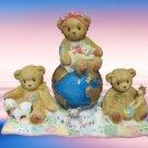 CHERISHED TEDDIES A BRIGHT FUTURE GLOBE 110009R MIB NEW