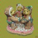 CHERISHED TEDDIES SUGAR SPICE GINGERBREAD BEARS 352586