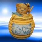 CHERISHED TEDDIES SWEET FRIEND HONEY JAR TRINKET BOX